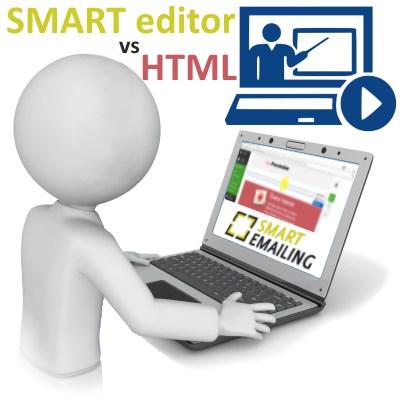 SmartEmailing editor emailu