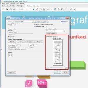 Jak vytisknout PDF na vice stran