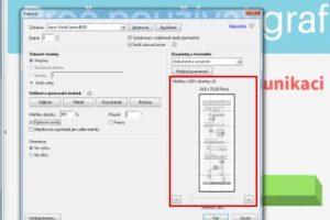 Jak vytisknout PDF jako plakát